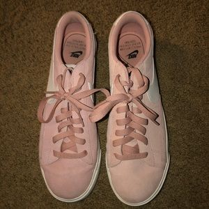 Nike Light Pink Suede Women's Blazer Shoes !!!